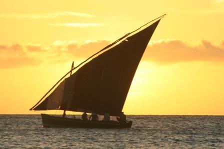 Bazaruto Archipelago at Sunset