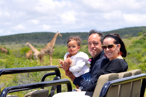 Jeanie Fundora on a Family Game Drive