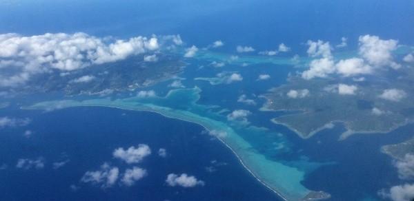 Bora Bora from the Air by Craig Beal