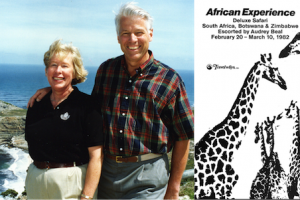 David and Audrey Beal in South Africa