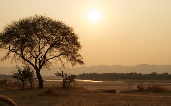Zambia Sunset
