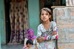 Girl in India by Jeanie Fundora