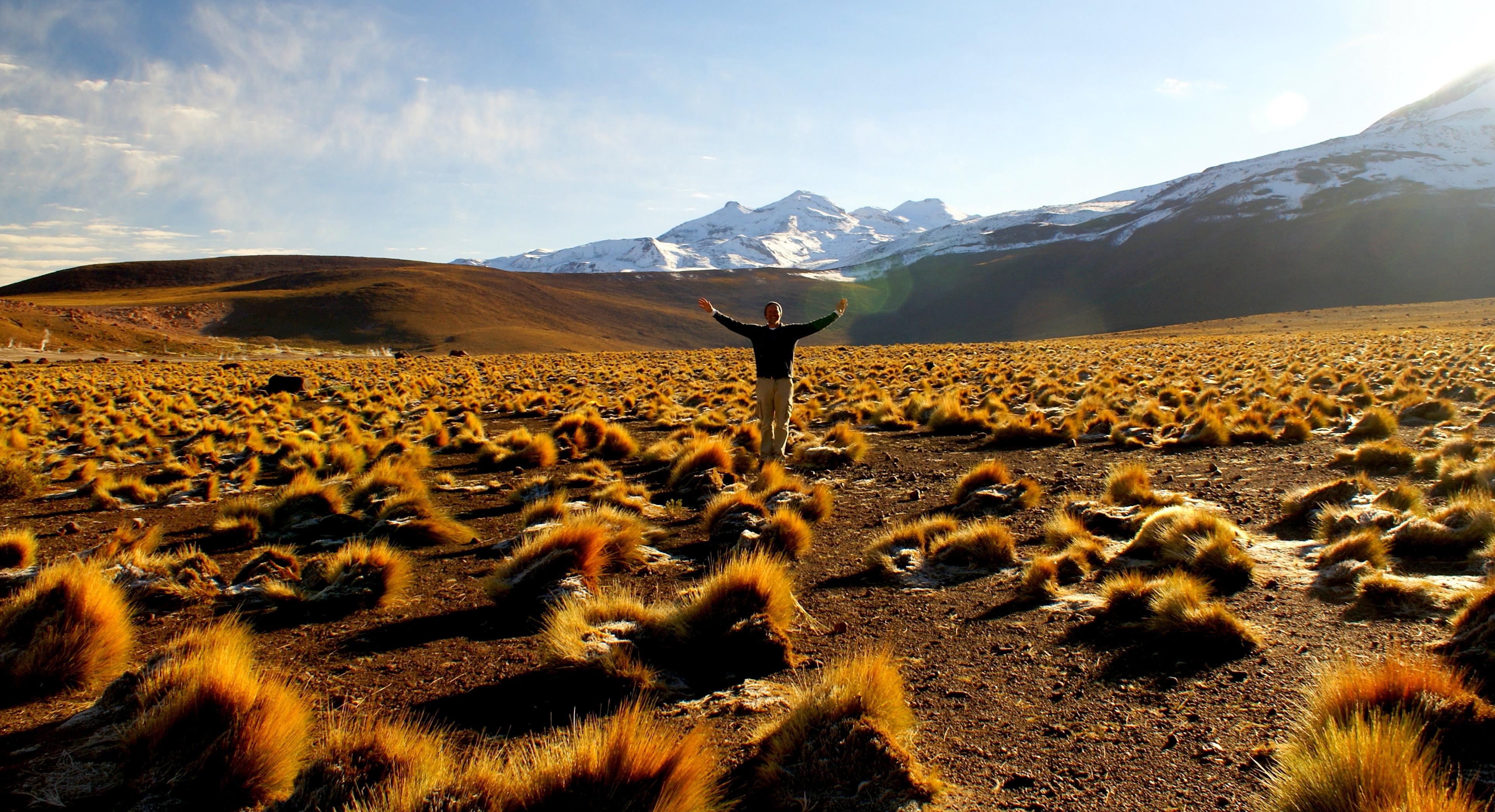Ken Marshall in Patagonia
