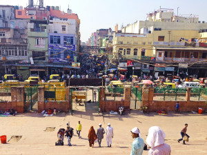 India City Life by Lainie Overbeck
