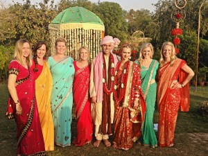 Lainie and Friends in Saris