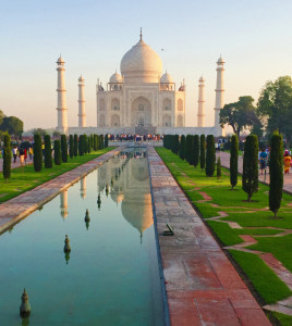 Taj Mahal by Lainie Overbeck