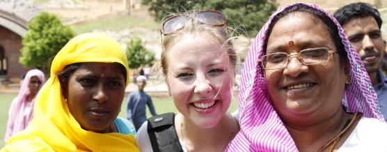 Kayla Torgerson in India
