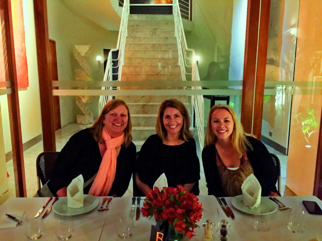 Dining at Hotel B