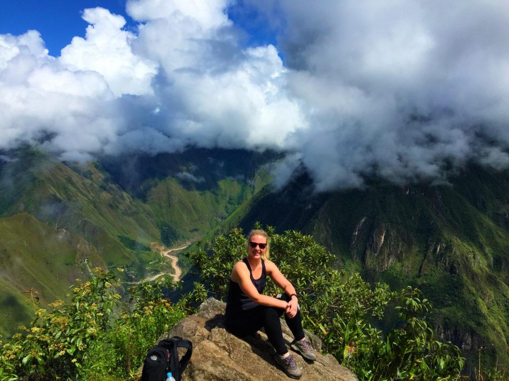 Kayla Atop Machu Picchu