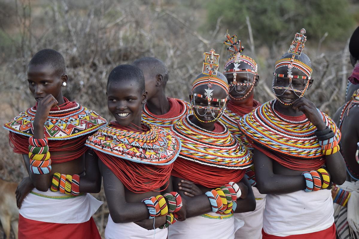 Jeanie Fundora - Samburu women in Laikipia, Kenya