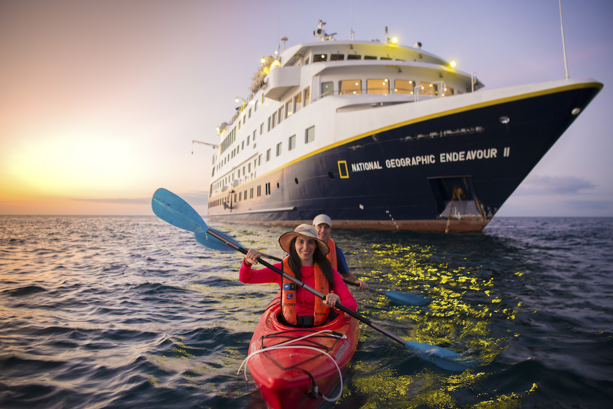 Lindblad Kayaking