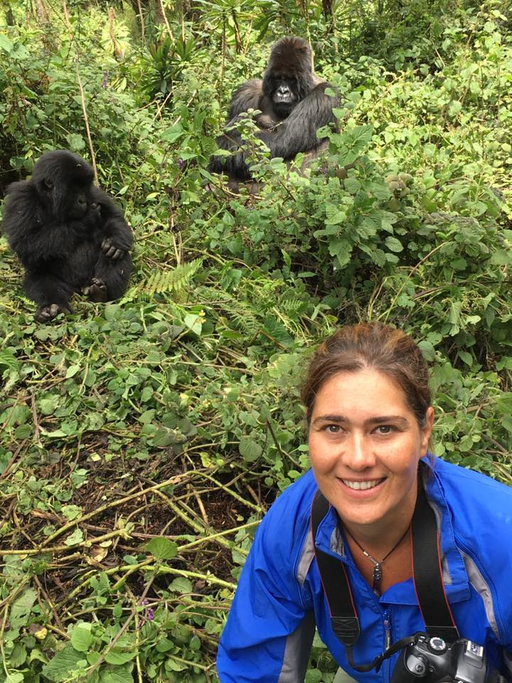 me and gorilla