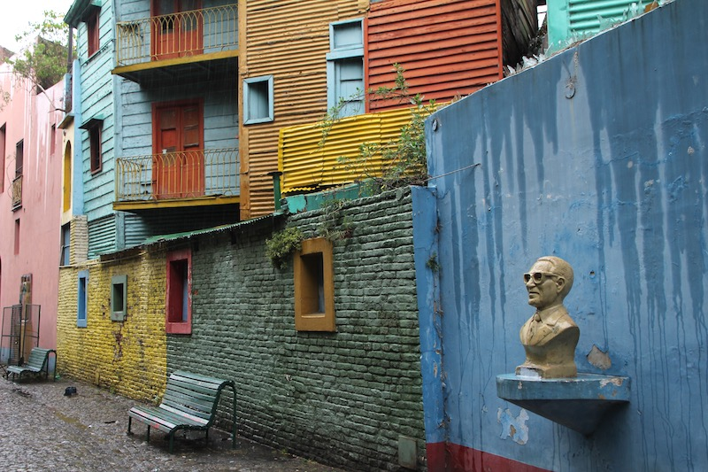 Colors in La Boca Argentina
